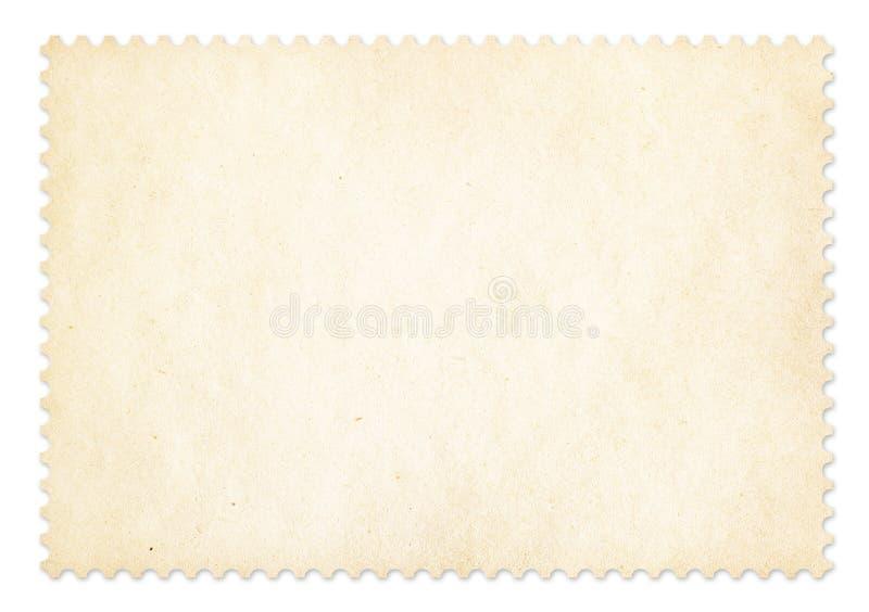 Struttura del francobollo isolata con il percorso di ritaglio fotografie stock