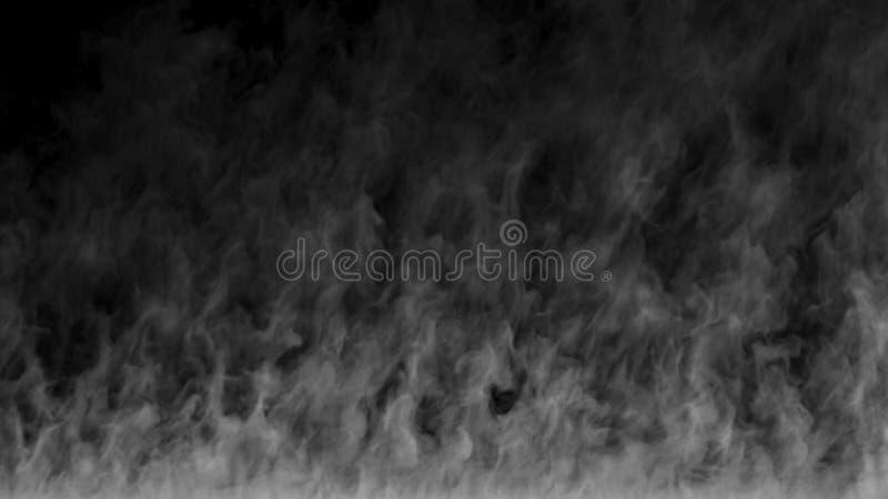 Struttura del fumo fotografia stock