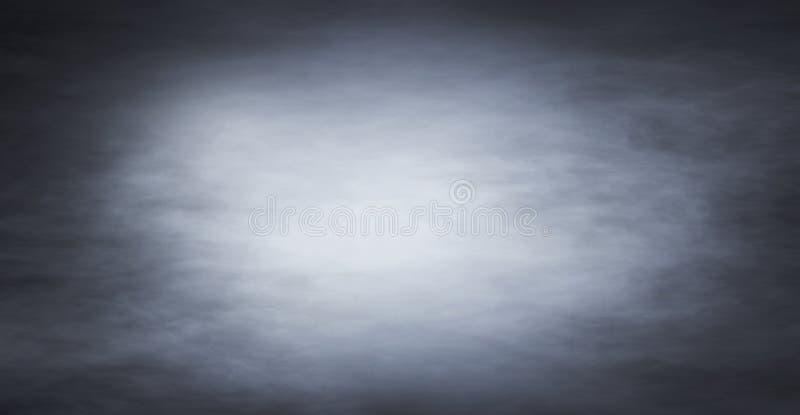Struttura del fumo nell'oscurità immagini stock libere da diritti