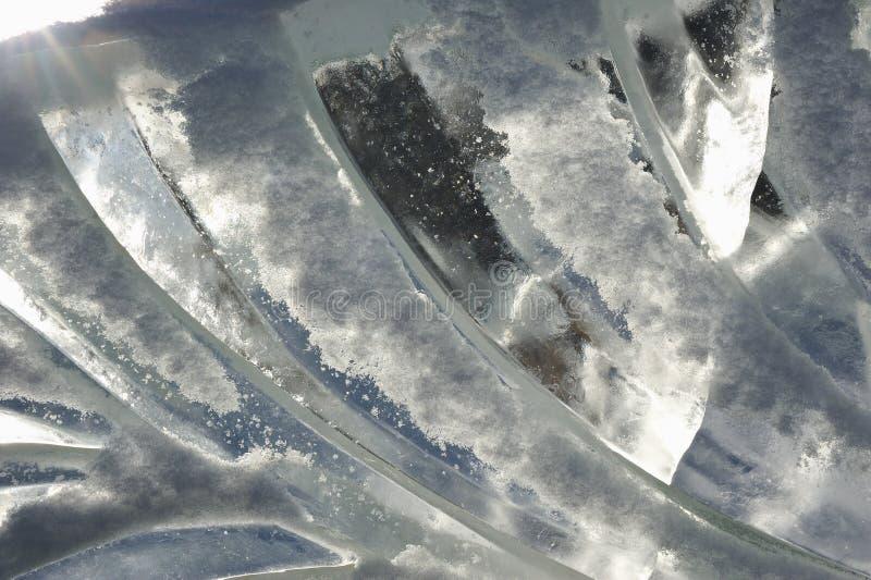 Struttura del ghiaccio immagini stock libere da diritti
