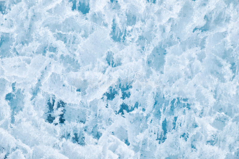 Struttura del ghiaccio immagine stock