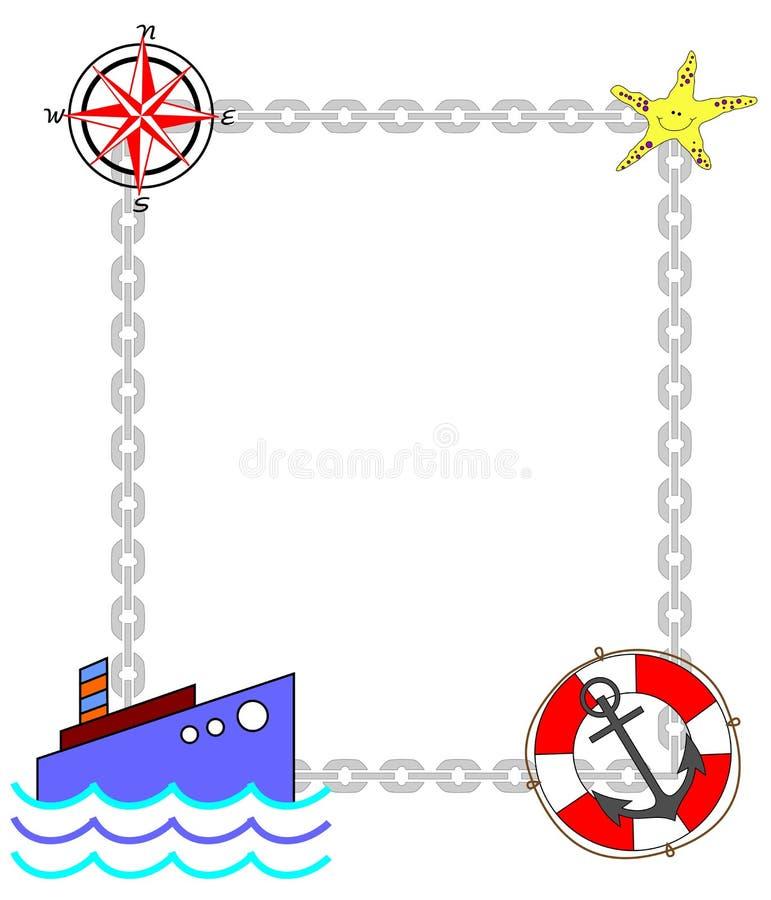 Struttura del mare illustrazione vettoriale