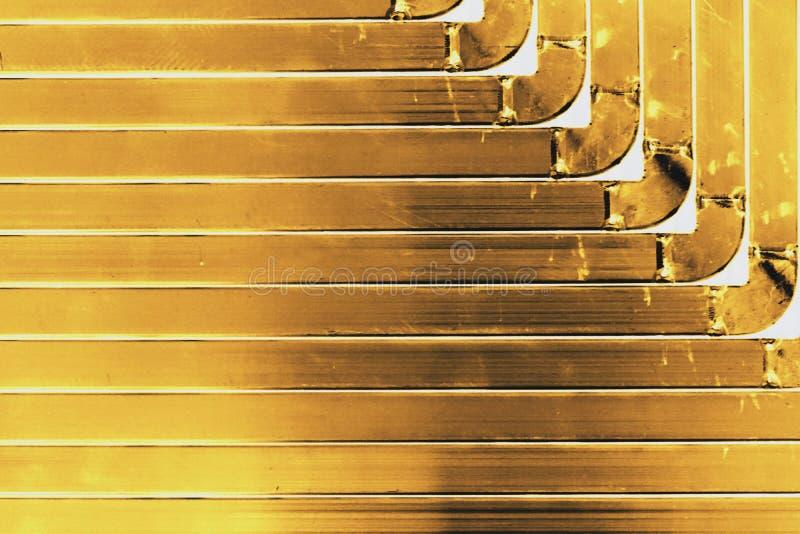Struttura del metallo di angolo fotografia stock libera da diritti