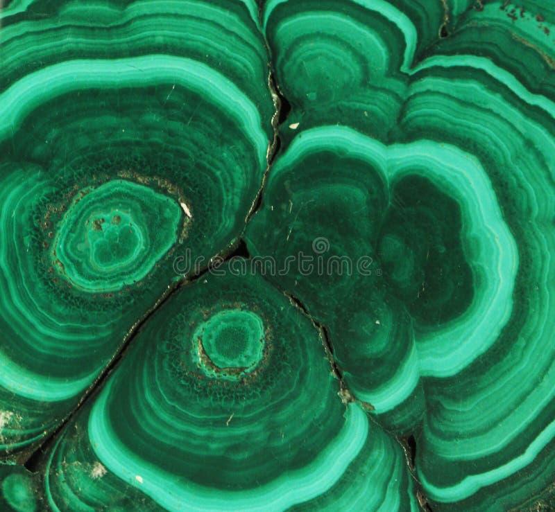 Struttura del minerale della malachite fotografia stock libera da diritti