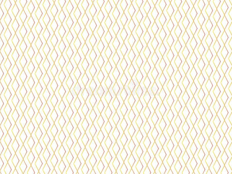 Struttura del minimalista di pendenza del rombo illustrazione di stock