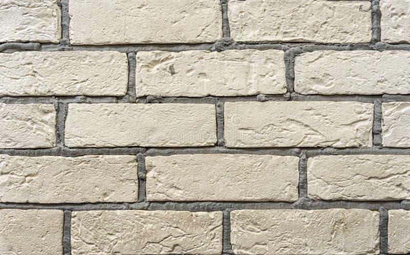 Struttura del muro di mattoni bianco Priorit? bassa del muro di mattoni bianco immagini stock