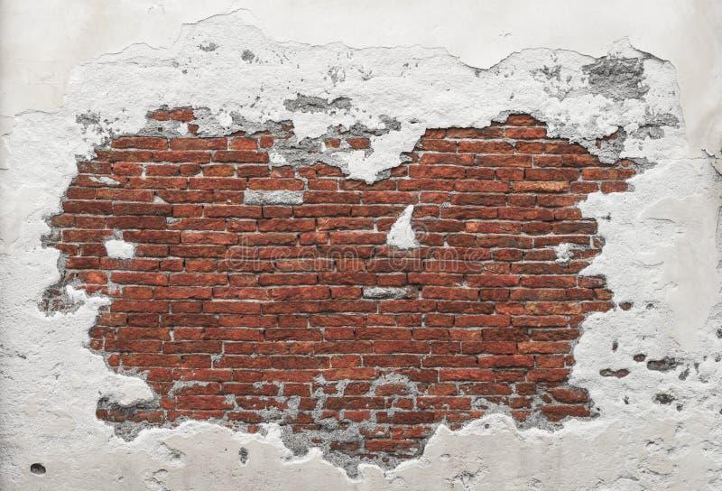Struttura del muro di mattoni di lerciume fotografie stock