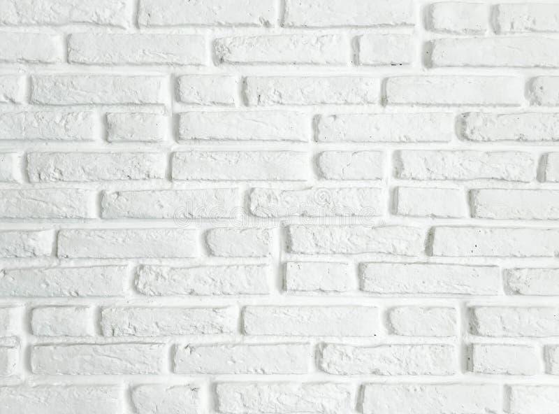 struttura del muro di mattoni Priorità bassa bianca del muro di mattoni Muro di mattoni bianco per l'interno o la progettazione e immagini stock libere da diritti