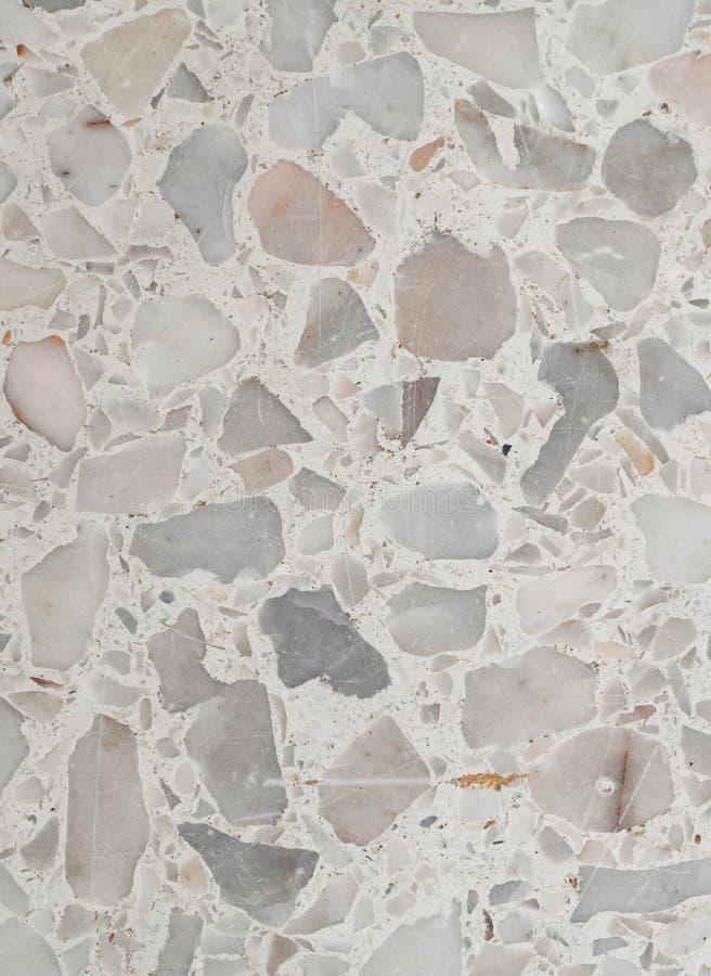 Struttura del pavimento di terrazzo parete di pietra lucidata del modello e marmo di superficie - Pavimento per terrazzo ...