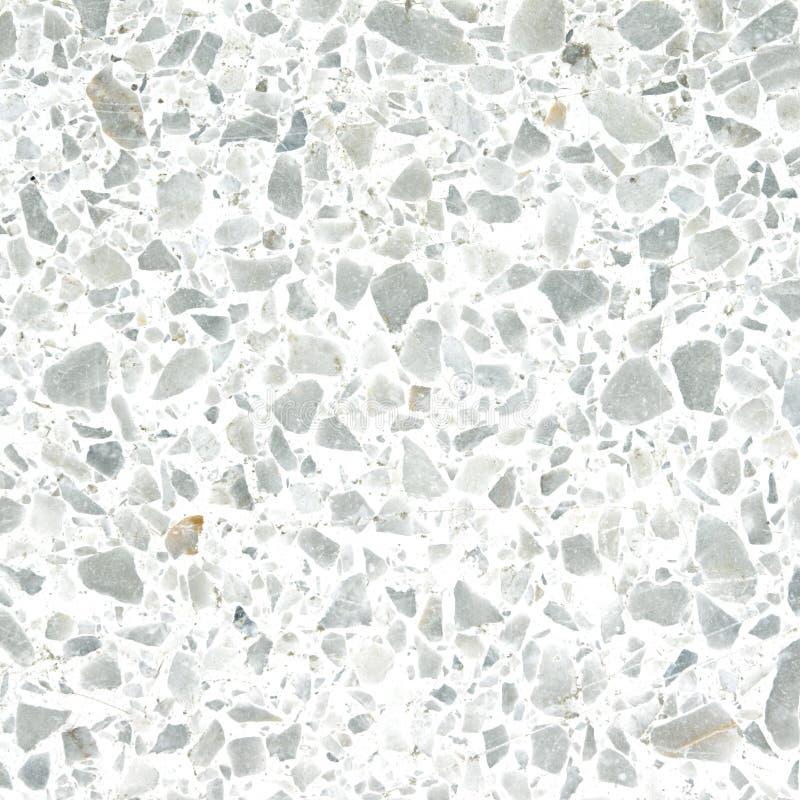 Struttura del pavimento di terrazzo vecchia o pietra lucidata per fondo immagini stock