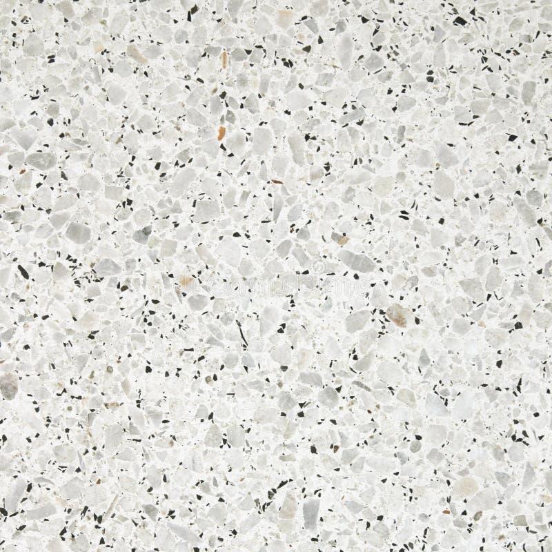 Struttura del pavimento di terrazzo vecchia o pietra lucidata per fondo immagini stock libere da diritti