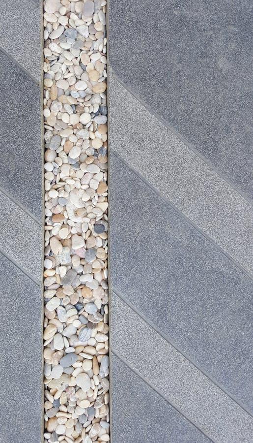 Struttura del pavimento lavata pietra fotografie stock