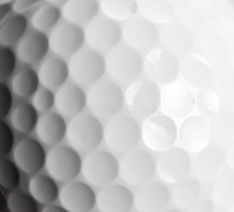 Struttura del primo piano della palla da golf fotografia stock libera da diritti