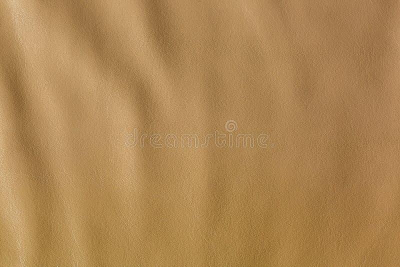 Struttura del primo piano di fondo di cuoio marrone naturale fotografie stock