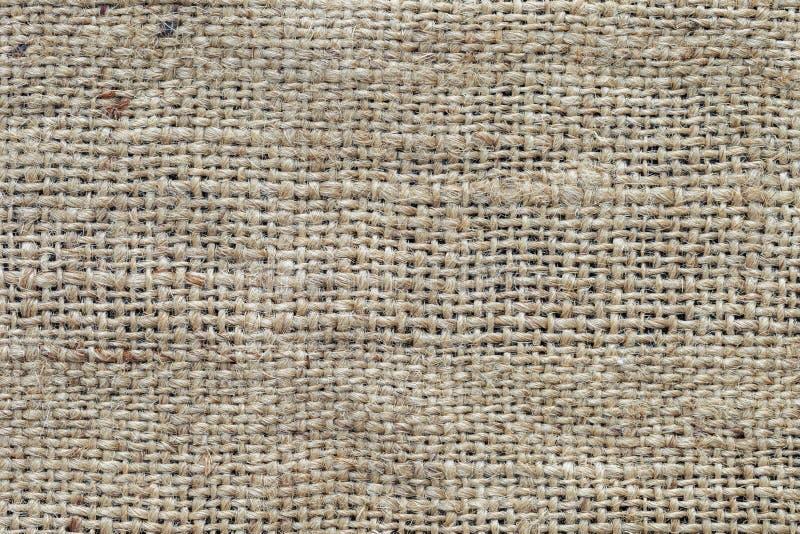 Struttura del sacco di iuta, fondo rustico fotografia stock libera da diritti