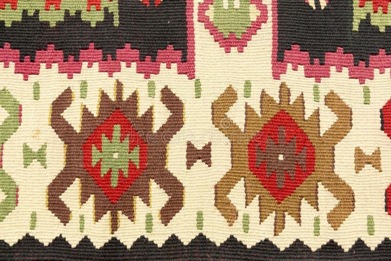 Struttura del tappeto della lana fotografia stock