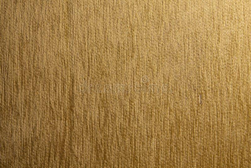 Struttura del tessuto delle bande verticali di Brown immagine stock