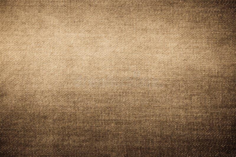 Struttura del tessuto delle blue jeans immagini stock