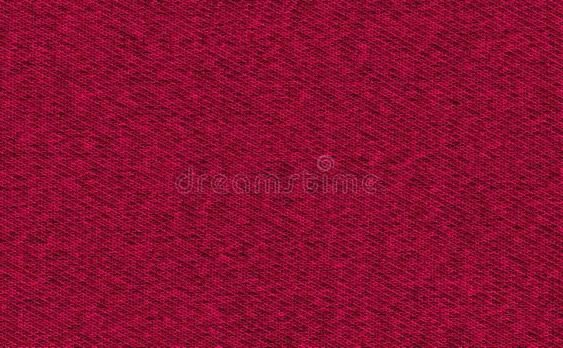 Struttura del tessuto di colore rosso del primo piano Linea rosso scuro, marrone rossiccio, di Borgogna campione di colore di str illustrazione vettoriale