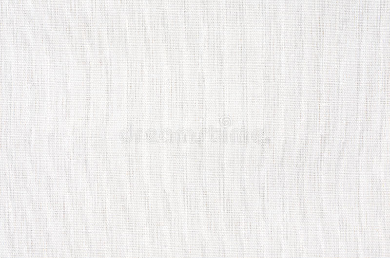 Struttura del tessuto o fondo bianca, tela bianca immagine stock libera da diritti
