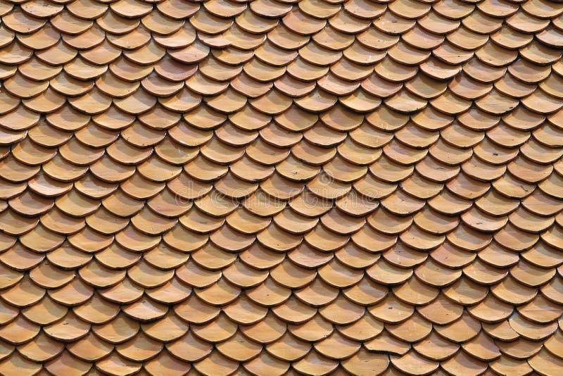 Struttura del tetto dell'argilla fotografie stock libere da diritti