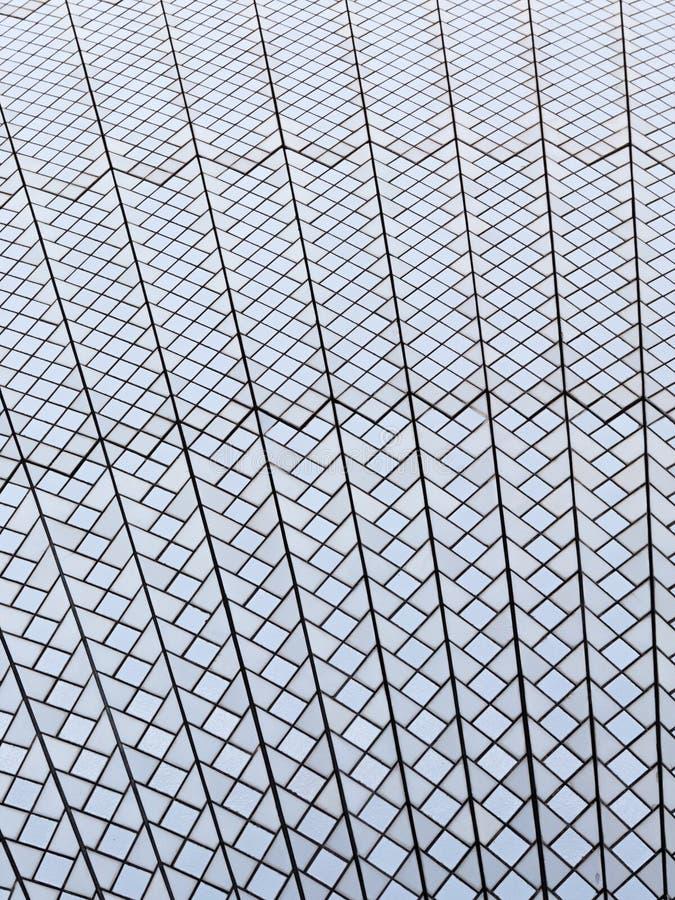 Struttura del tetto di Sydney Opera House immagine stock libera da diritti