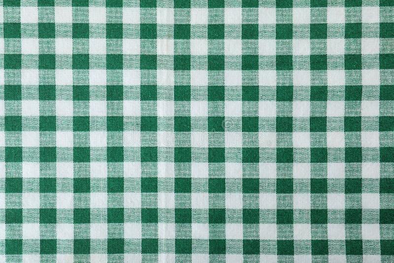 Struttura del tovagliolo di tavola del tessuto, primo piano immagine stock