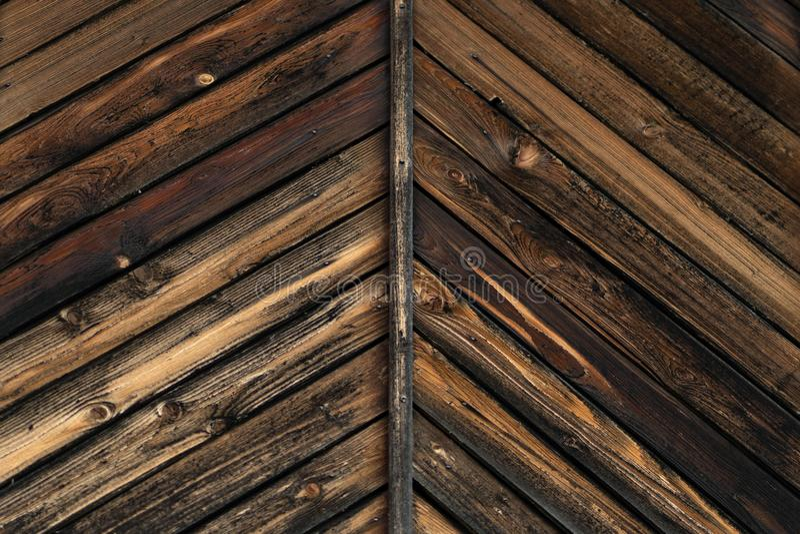 Struttura del vecchio bruciato in bordi di legno del fuoco immagine stock libera da diritti