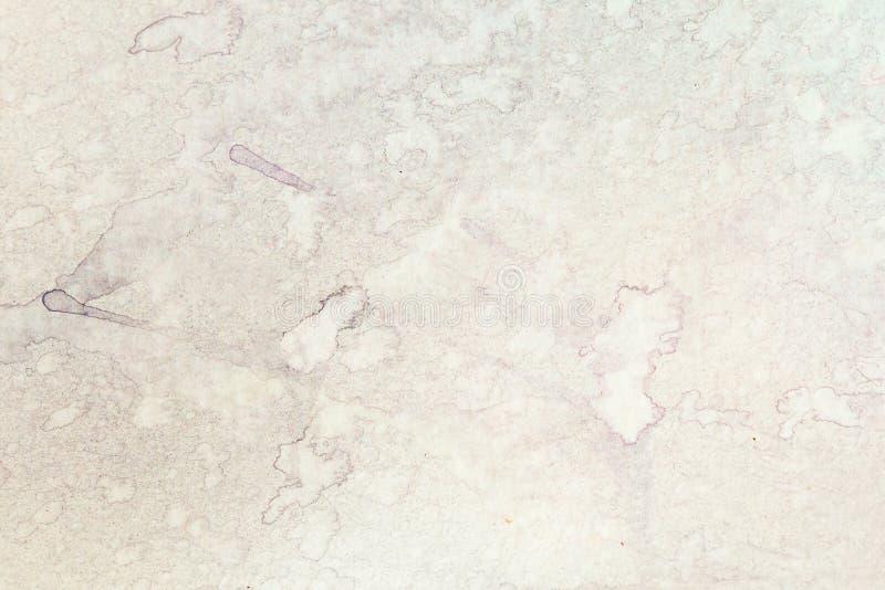 Struttura delicata dell'acquerello con le macchie su carta fotografia stock libera da diritti