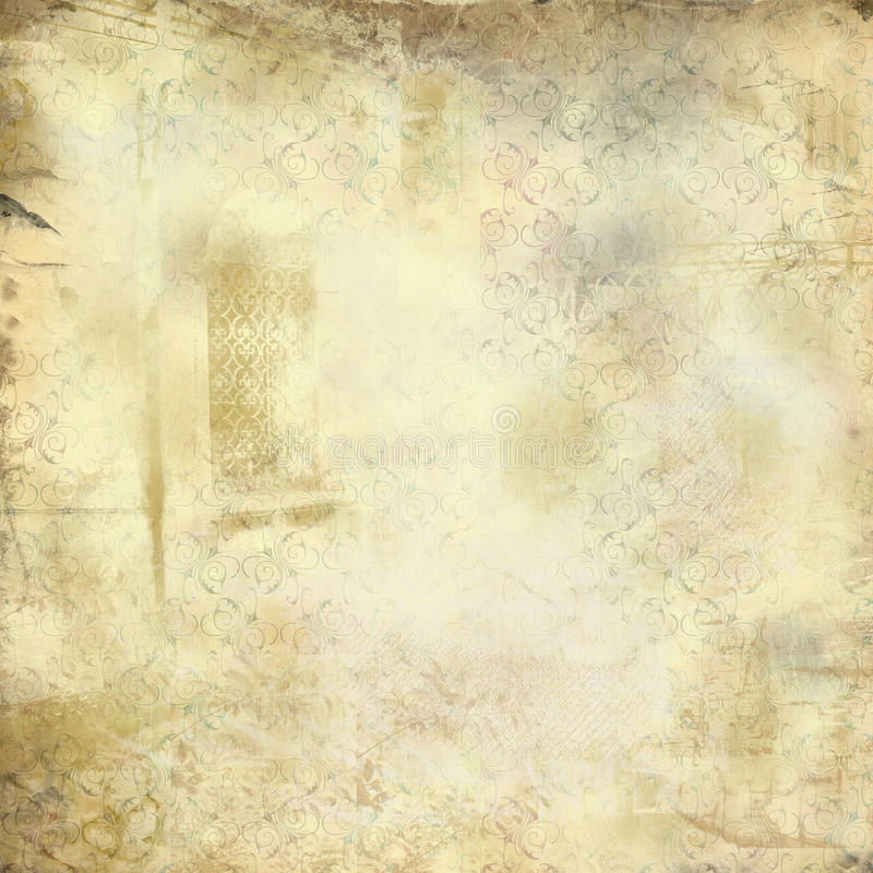 Struttura dell'annata di Grunge illustrazione vettoriale