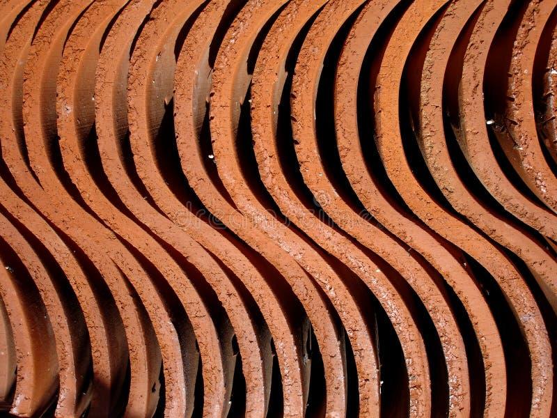 Struttura dell'argilla fotografia stock libera da diritti