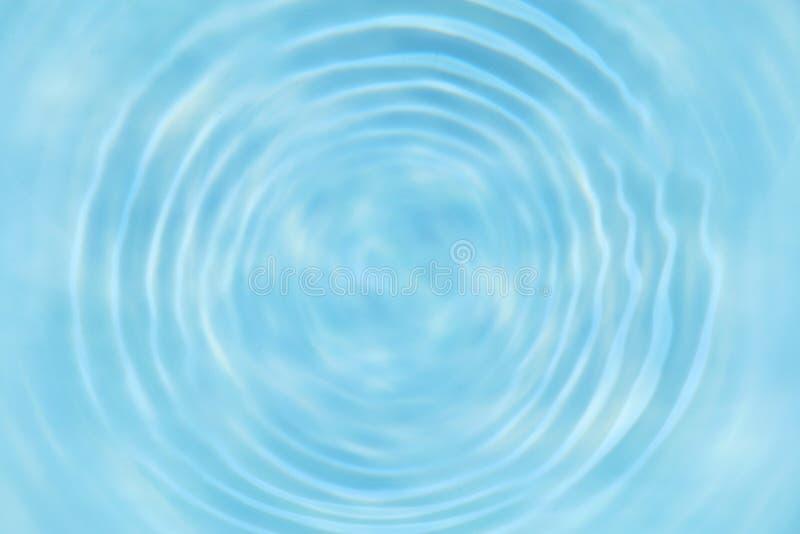 Struttura dell'ondulazione dell'acqua blu o sfondo naturale immagine stock