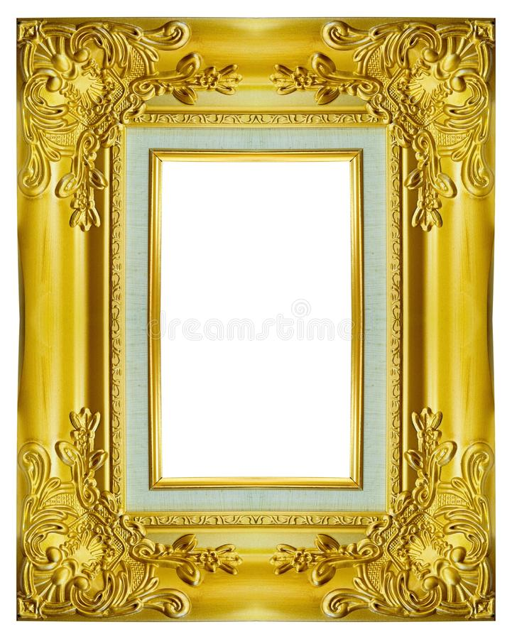 Struttura dell'oro sui precedenti bianchi fotografia stock libera da diritti