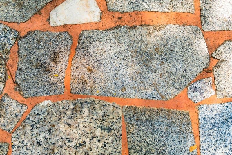 Struttura della fine di marmo di pietra del pavimento su immagini stock