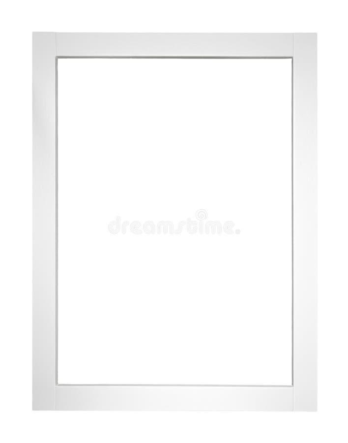 Struttura della finestra di legno bianca immagine stock libera da diritti