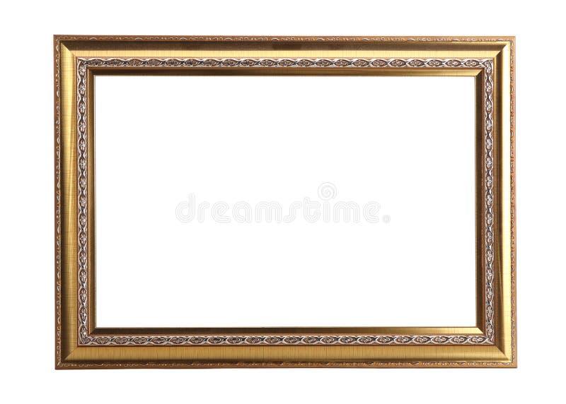 Struttura della foto dell'oro isolata immagine stock libera da diritti