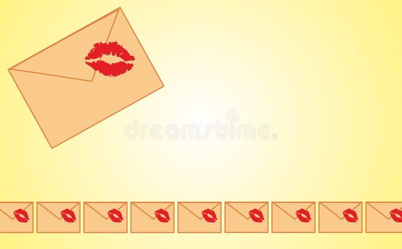 Struttura della lettera fotografia stock