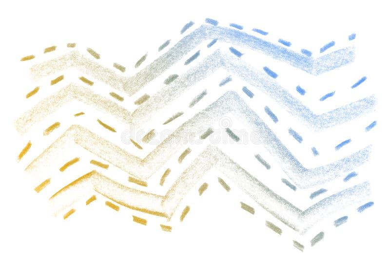 Struttura della matita di lerciume Fondo astratto della struttura della matita Struttura astratta approssimativa fotografia stock libera da diritti