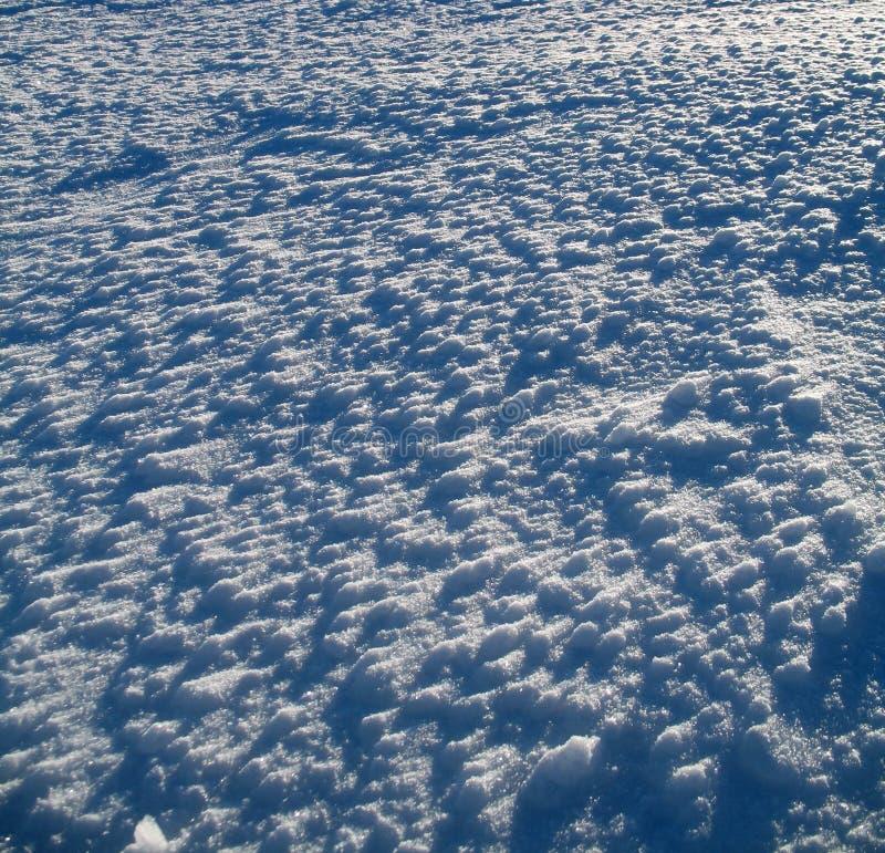 Struttura della neve immagine stock