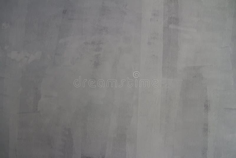 Struttura della parete del cemento con colore bianco leggero dipinto su loro pronto per dipingere fotografia stock libera da diritti