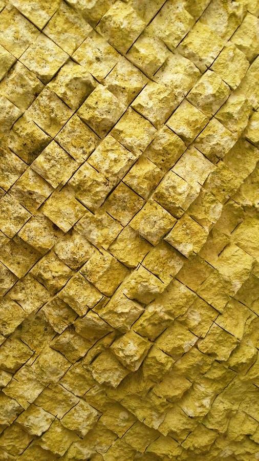 Struttura della parete di estrazione mineraria del gesso o taglio del mattone fotografia stock