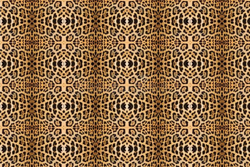 Struttura della pelle del leopardo fotografia stock libera da diritti