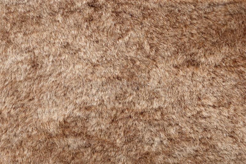 Struttura della pelliccia del Brown fotografie stock