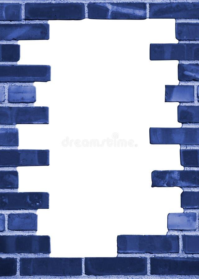 Struttura della priorità bassa del muro di mattoni illustrazione vettoriale