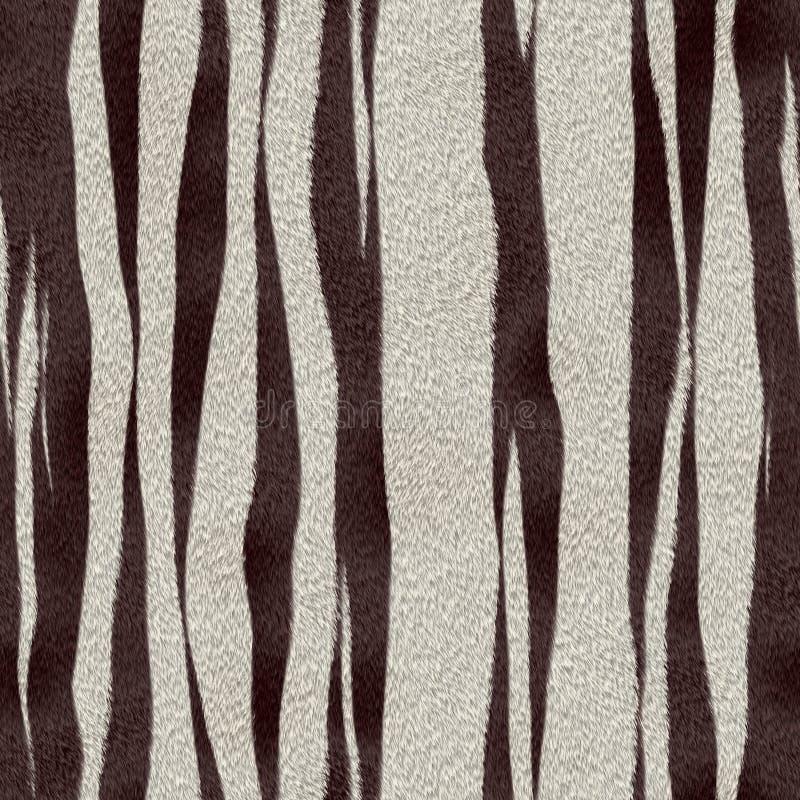 Struttura della priorità bassa della pelle della zebra illustrazione vettoriale