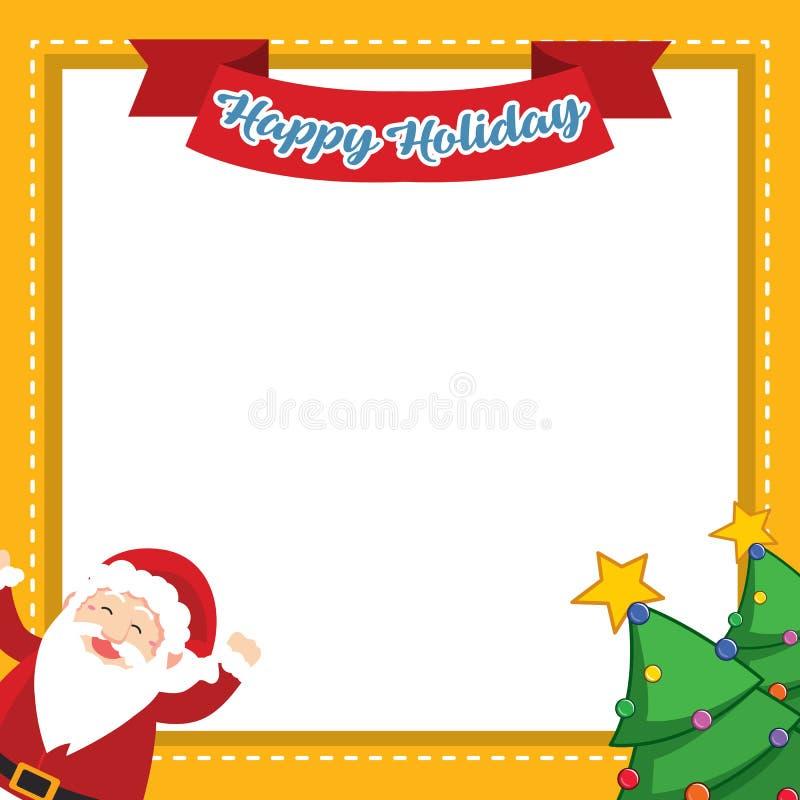Struttura della raccolta di stile di Natale illustrazione di stock