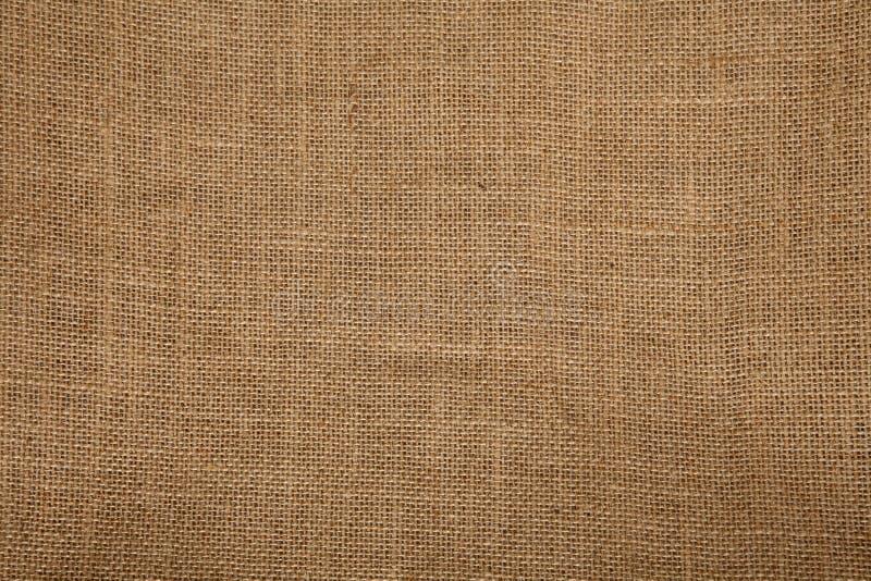 Struttura della tela da imballaggio fotografie stock