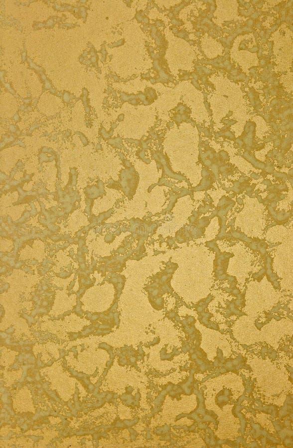 Struttura della vernice di disegno dell'oro fotografia stock