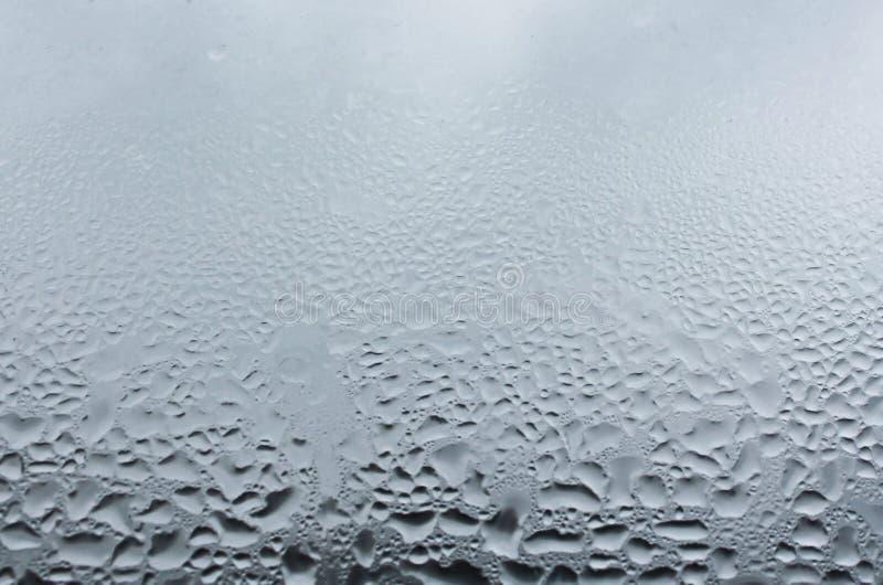 Struttura delle gocce di pioggia dell'acqua fotografie stock libere da diritti
