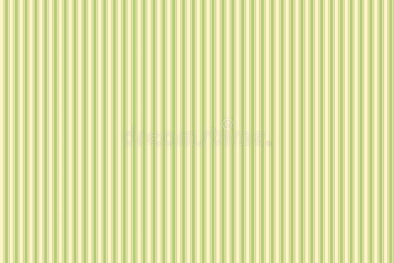 Struttura delle linee verticali di dimensioni differenti Giallo e verde fotografie stock